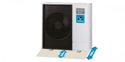 Luft Wasser Wärmepumpe Mitsubishi Zubadan Test und Preis